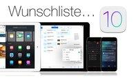 iOS 10 im Konzept zeigt innovative Features und Funktionen