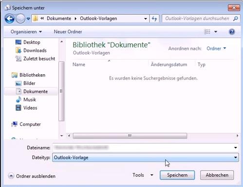 Outlook Vorlage Erstellen Und Einfügen Schnell Und Einfach