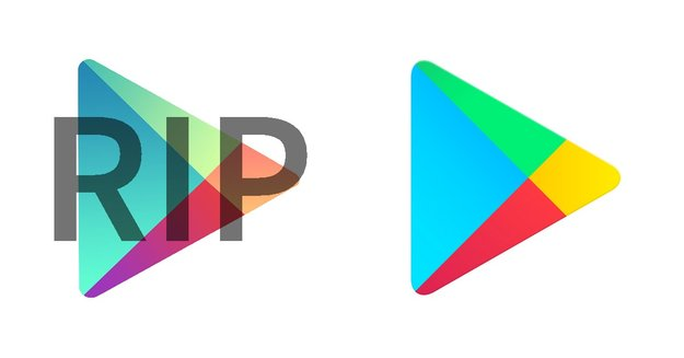Googles Play-Apps bekommen neue Icons [Vergleich]