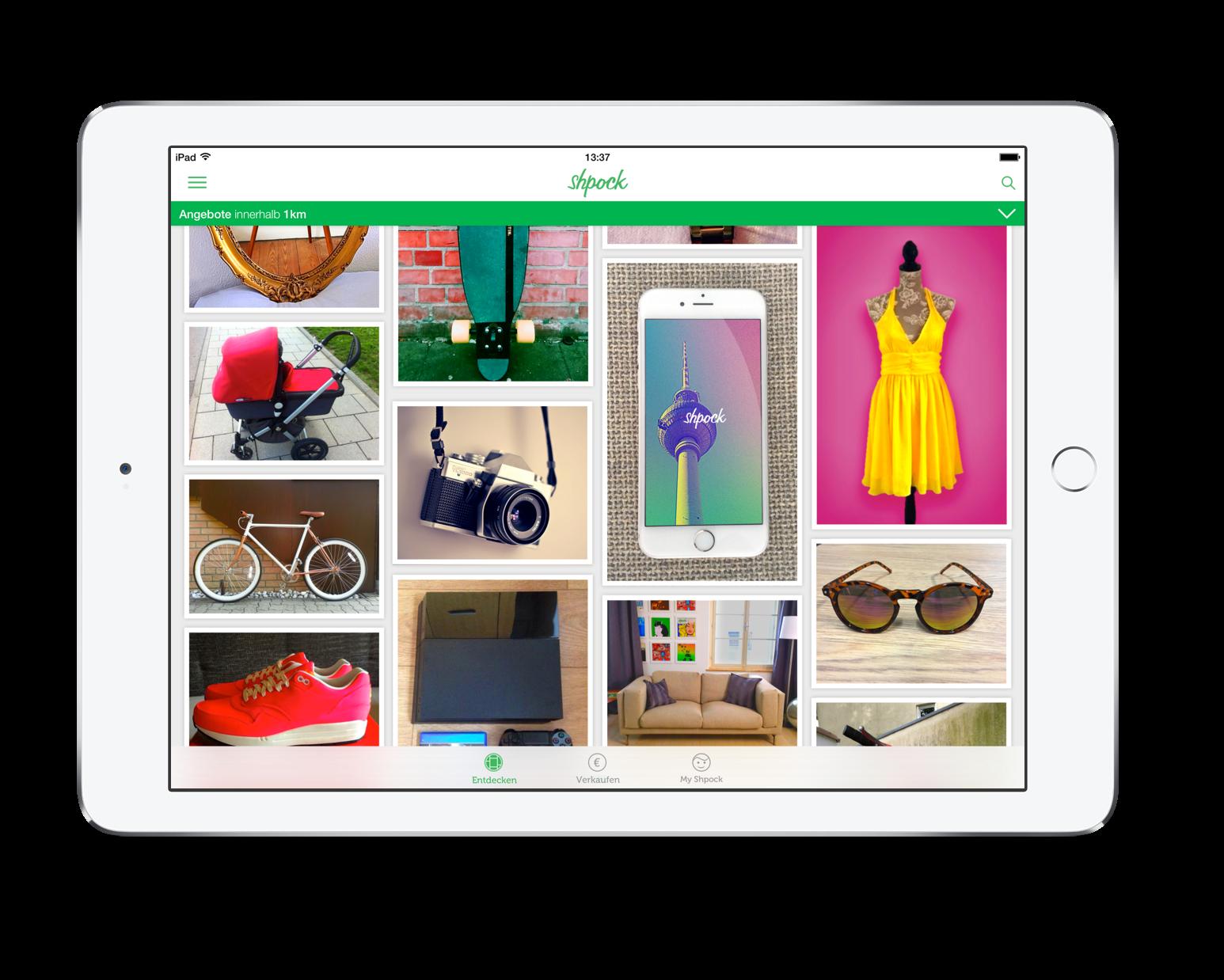 Shpock Flohmarkt Und Kleinanzeigen Per App Giga