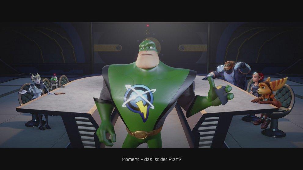Zusammen mit den Galaktischen Schutztruppen unter der Leitung des Möchtegernhelden Qwark geht es in den Kampf gegen das Böse.