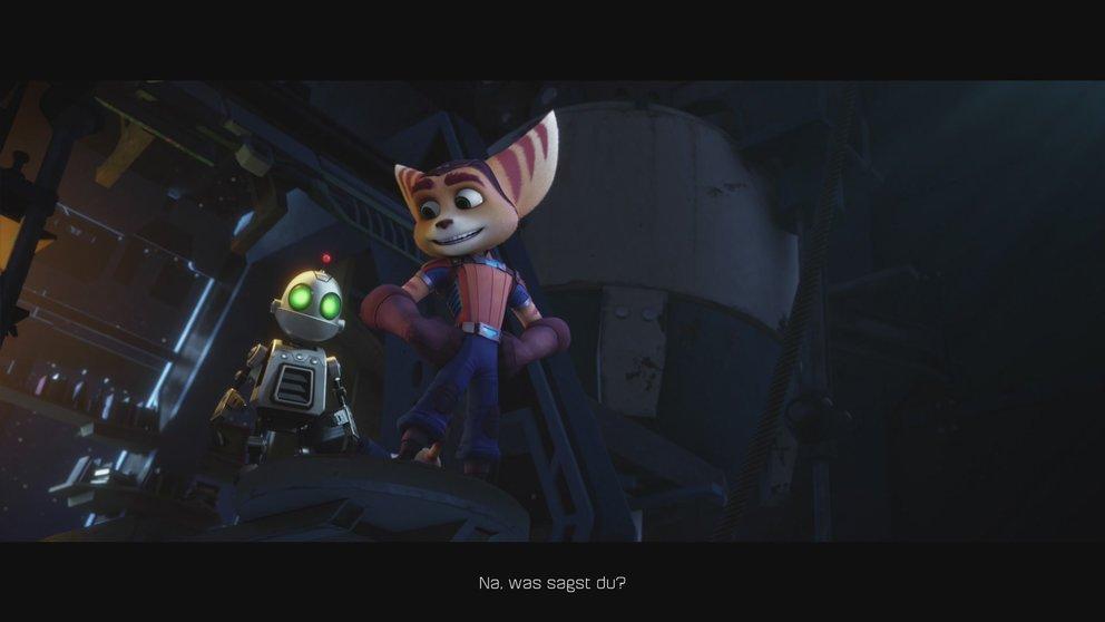 Ein Roboter und ein Lombax - Das perfekte Duo zur Rettung der Galaxie.