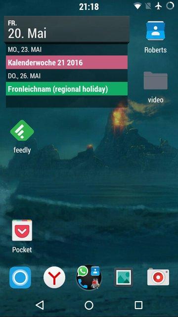 Android 6.0 (Resurrection Remix) auf einem LG G2 Mini ohne Google-Apps