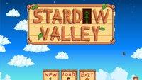 Stardew Valley: Systemanforderungen für die Farming-Sim