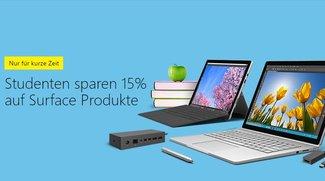 Surface Pro 4, Surface Book und Zubehör für Studenten mit 15 Prozent Rabatt
