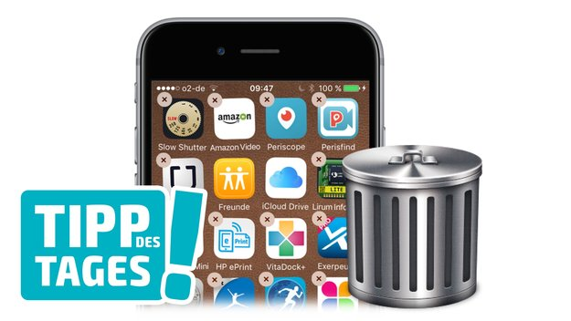 Tipp: Unbeabsichtigtes Löschen von Apps auf iPhone und iPad verhindern