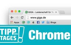 Tipp für Google Chrome: Platz...