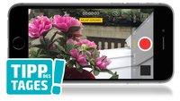 Kamera-Tipp: Autofokus auf dem iPhone deaktivieren