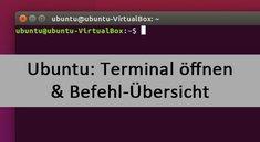 Ubuntu: Terminal öffnen und Befehle – so geht's