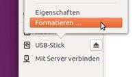 Ubuntu: USB-Stick formatieren – so geht's