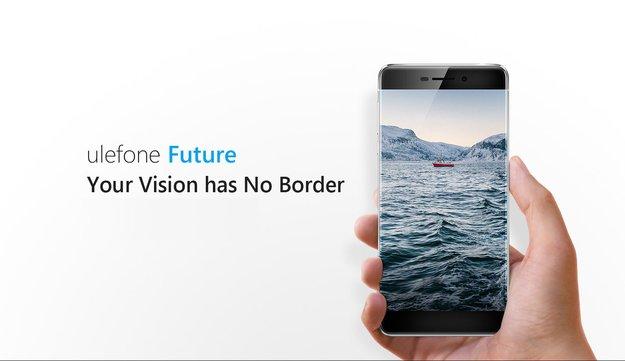 UleFone Future mit randlosem Display vorgestellt