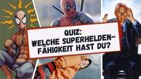 Marvel & DC-Quiz: Welche Superhelden-Fähigkeit hättest du?