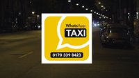 Taxi per WhatsApp rufen: Ab sofort möglich