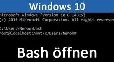 Linux-Subsystem in Windows 10 installieren (Bash aktivieren) – so geht's