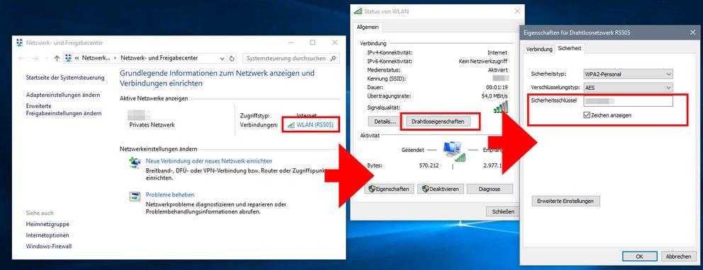 Windows Passwort Anzeigen