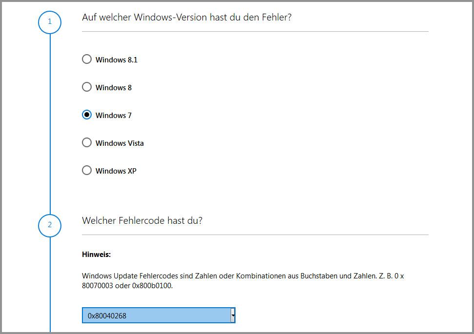 windows 7 dienste reparieren tool
