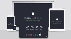 WWDC 2016: Wallpaper (iPhone, iPad, Mac) und Countdown-Widget (Mac) zum Download