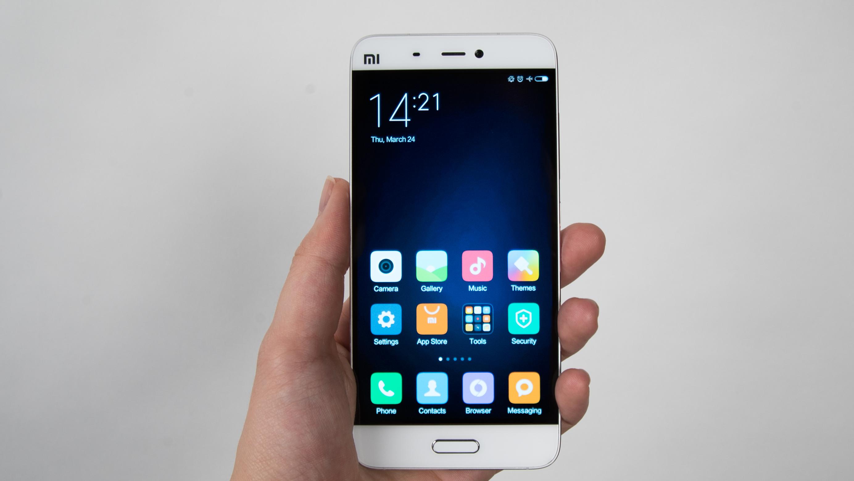 Xiaomi Mi5s: Mit Ultraschall-Fingerabdruckscanner gegen PIN und  Entsperrmuster ...