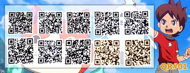 Yo Kai Watch Qr Codes Für Yo Kaimat Münzen Giga