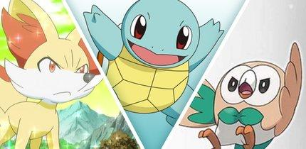 Pokémon: Das ist die definitive Rangliste aller Starter