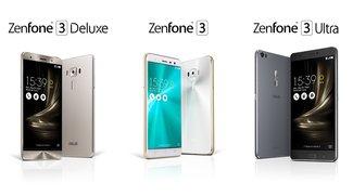 Asus ZenFone 3: Premium-Smartphones zum Knallerpreis vorgestellt