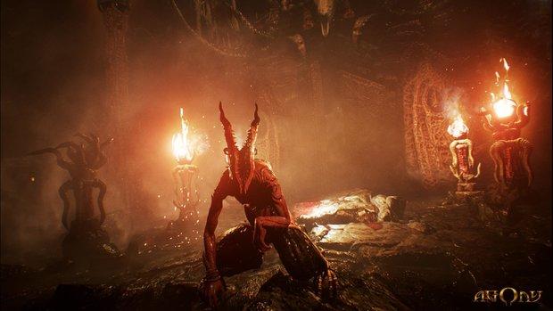 Das polnische Horror-Spiel Agony schickt euch durch die Hölle