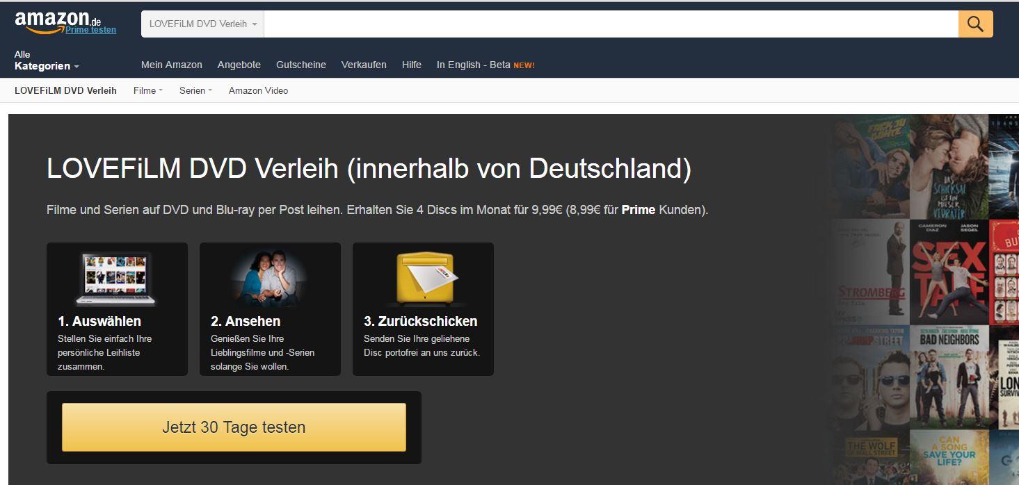 Amazon Lovefilm