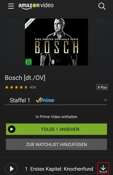 Amazon Prime Video im Ausland App Download Herunterladen