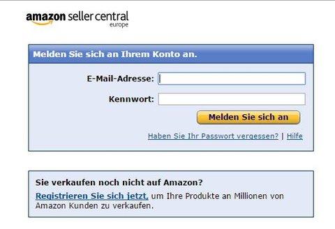Amazon-Seller-Central-Login