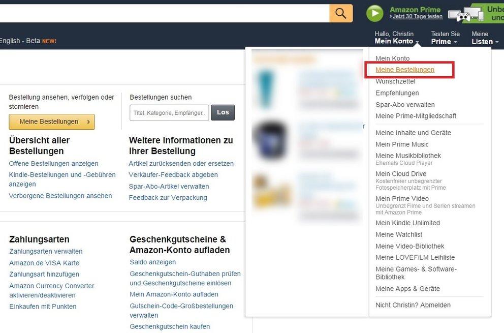 Amazon bestellungen dauern