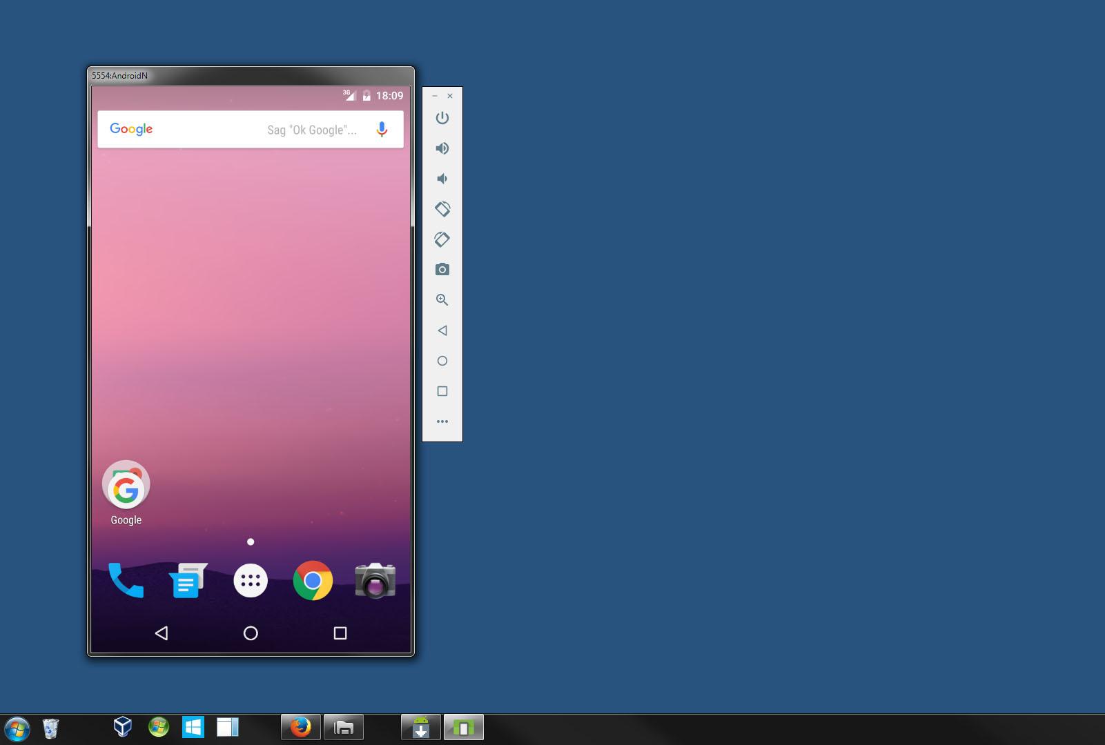 android emulator auf windows tablet