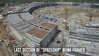 Apple Campus 2: Neue Luftaufnahmen zeigen Fortschritte im April
