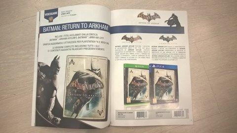 Zeigt dieses italienische Magazin das Cover-Artwork zu Batman: Return to Arkham? Quelle: imgur