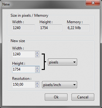Din A4 Maße Pixel