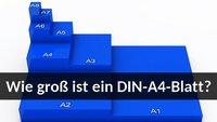 DIN-A4-Maße: In cm, mm & Pixeln - So groß ist das Papierformat
