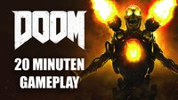 DOOM: Wir zeigen die ersten 20 Minuten im Gameplay-Video