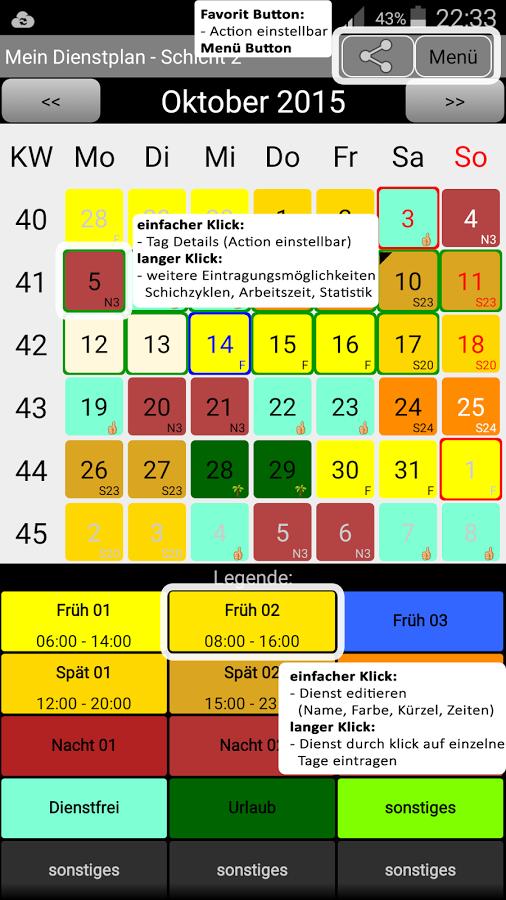 Dienstplan App: So habt ihr euren Schichtplan mit Smartphone ...
