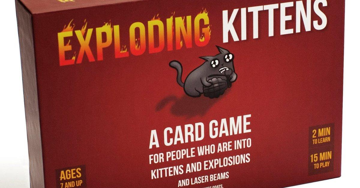 Exploding Kittens Regeln Des Kickstarter Hypes Giga