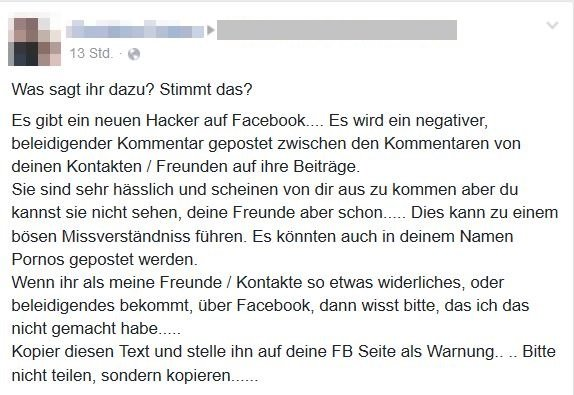 Facebook Hacker 2016 Screenshot