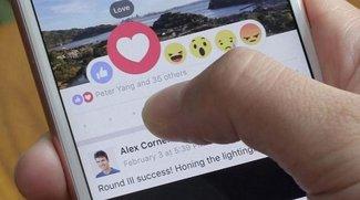 Facebook Reactions: Polizei warnt vor neuem Bewertungs-System