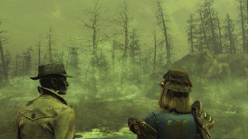 Synth Nick mit nach Far Harbor zu nehmen, kann sich für zusätzliche Interaktionen lohnen.