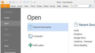 Foxit Reader &#8211&#x3B; PDFs lesen, bearbeiten und drucken