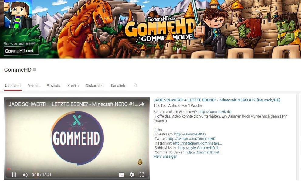 GommeHD Reallife Wer Ist Gomme Und Wie Sieht Er Aus GIGA - Minecraft server erstellen wie gommehd