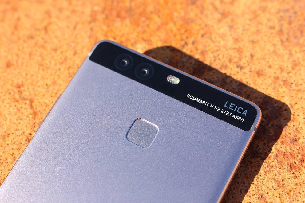 Huawei P9 Fingerabdruckscanner