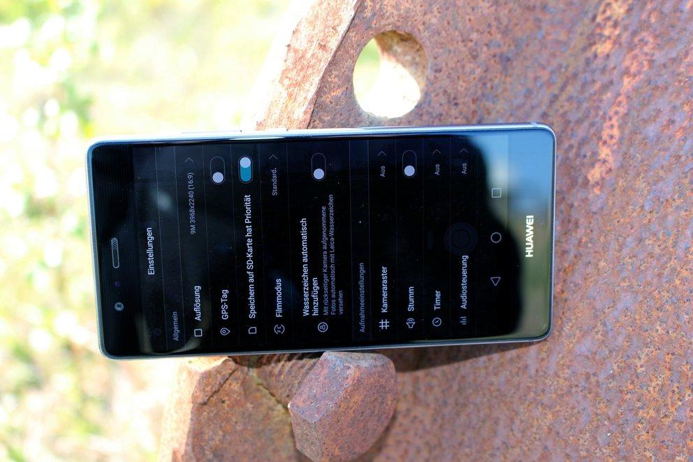 Huawei P9 Kamera-App Einstellungen