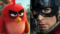 Kinocharts: So ist der Angriff der Angry Birds auf Captain America ausgegangen