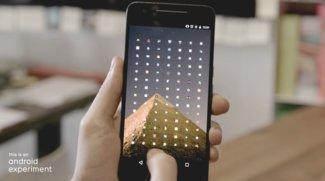 Lens Launcher: App-Auswahl im Lupeneffekt