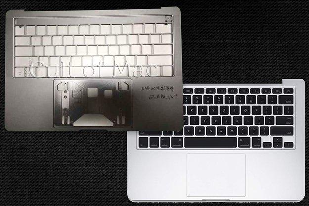 OLED-Screen und 4x USB-C: Bilder zeigen angebliches Gehäuse des MacBook Pro 2016