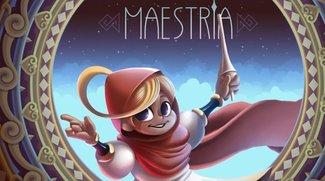 Maestria: Puzzlespiel mit Monument-Valley-Optik ab sofort kostenlos