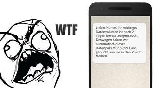 Telefonica: Deutsche verbrauchen unter 1 GB Datenvolumen pro Monat